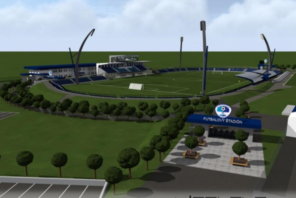 Predbežné VIZUALIZÁCIE: Takto by mohol vyzerať štadión v Spišskej po obnove