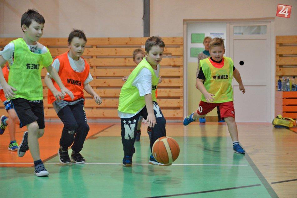Obrazom: Malí basketbalisti v Michalovciach