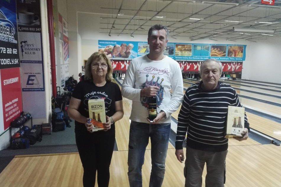 Bowling Tour mesta Poprad 7. kolo 01/2018