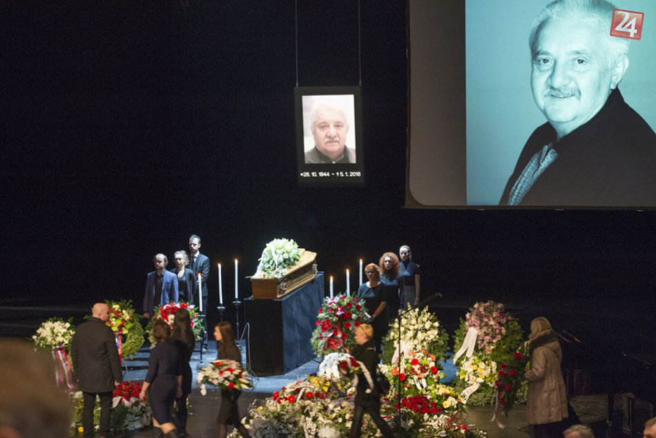 FOTO: Svet sa rozlúčil so zosnulým hercom Mariánom Labudom (†73)