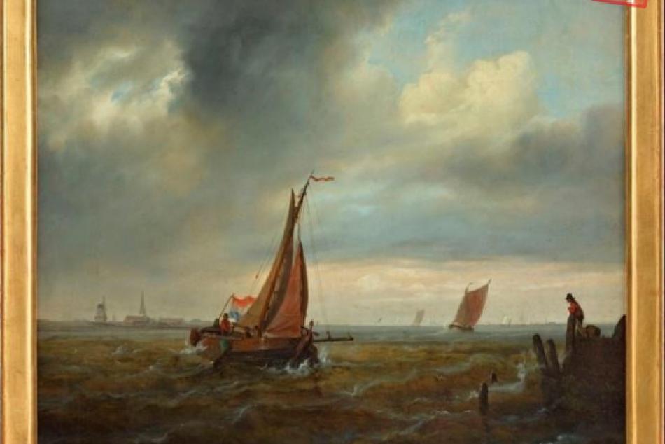 Marína – plavba lodí v prístave