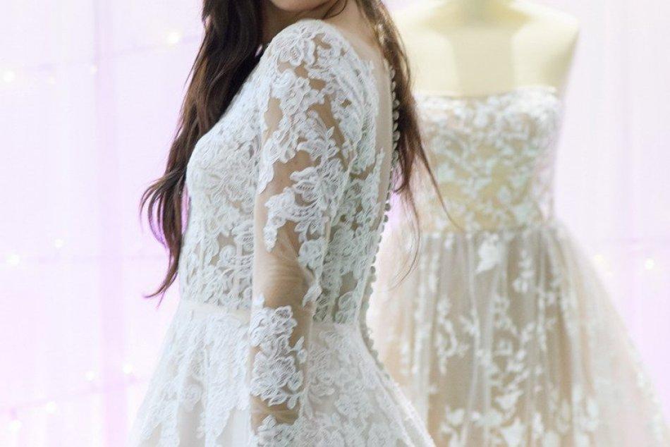 FOTO: Nosnou témou tohtoročnej svadobnej výstavy je Folk nevesta