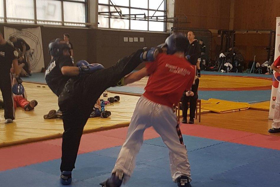 V OBRAZOCH: Medailová žatva kickboxerov z Revúcej