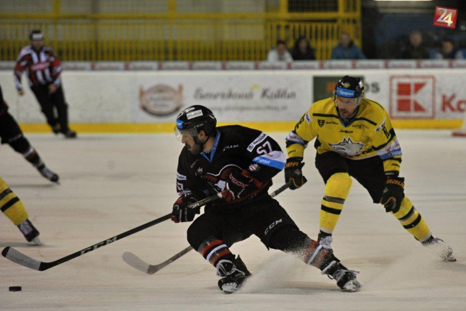 V OBRAZOCH: Bystrickí hokejisti pod Dubňom tesne zvíťazili