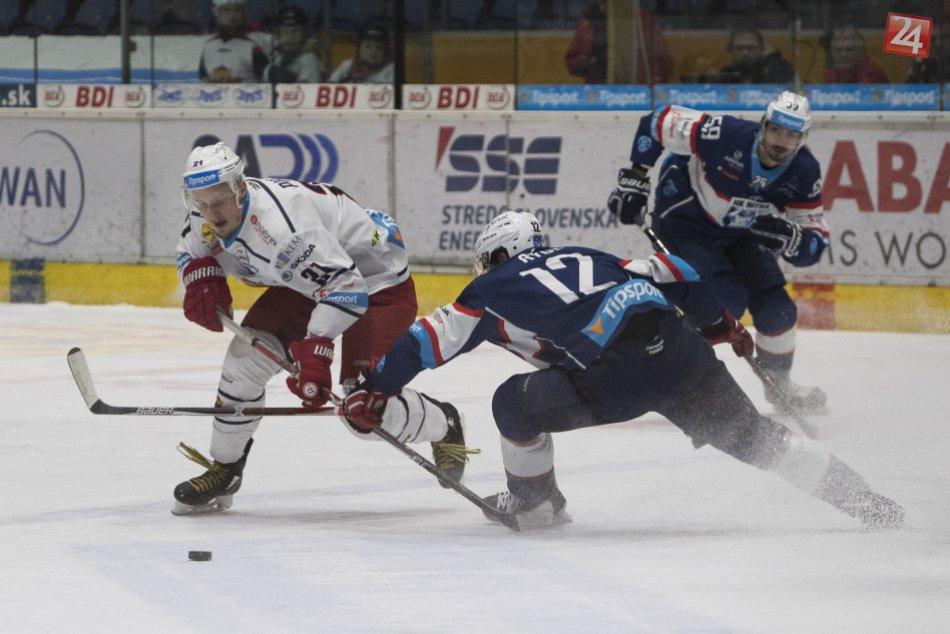 V OBRAZOCH: Hokejisti HKM doma zdolali Nitranov