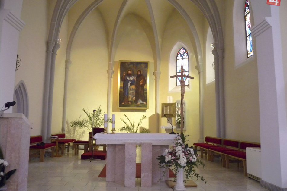 V OBRAZOCH: Farský kostol sv. Cyrila a Metoda v obci Selce
