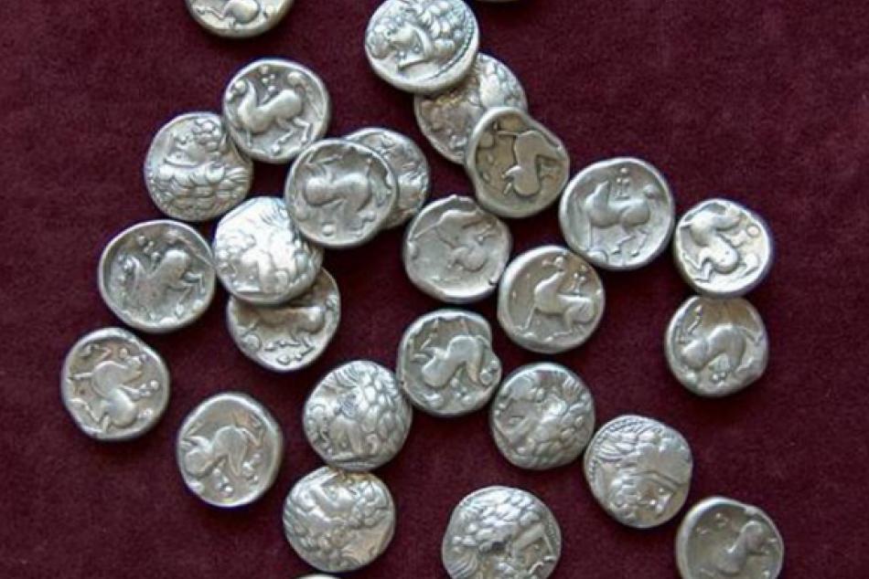 Keltské mince: Objavili ich v Ptičím a dnes sú k videniu vo Vihorlatskom múzeu