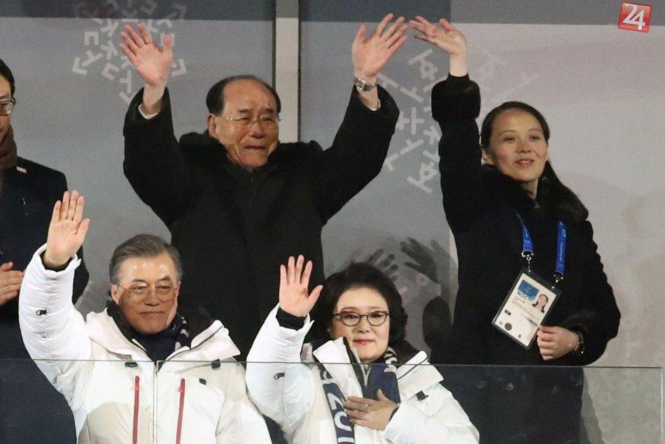 Slávnostný ceremoniál otvoril olympijské hry v Pjongčangu