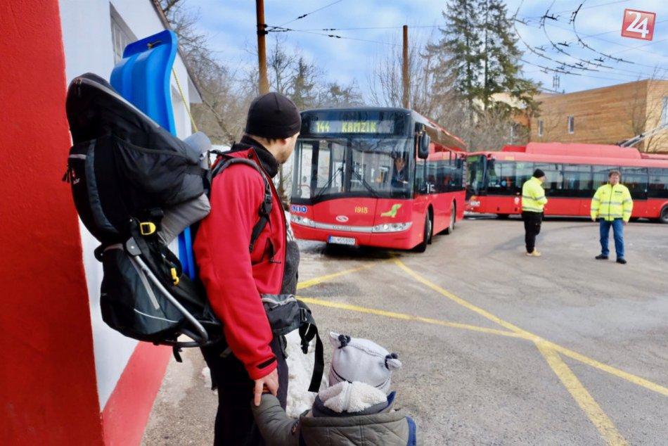 Nová autobusová linka na Kamzík