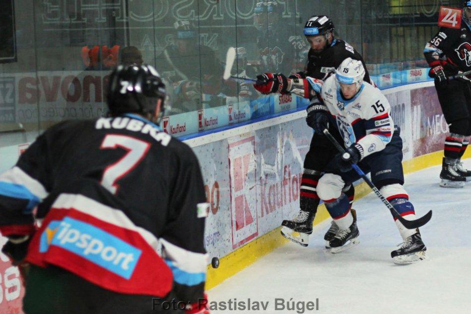Nitra doma nestačila na Bystricu, jediný gól domácich strelil Blackwater