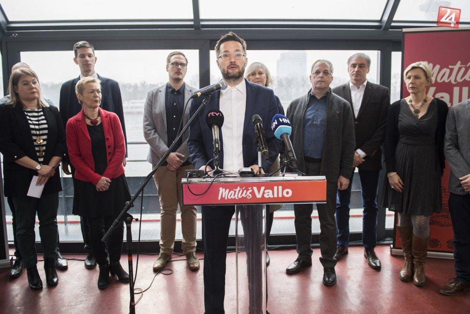 Kandidát na primátora Bratislavy - Matúš Vallo
