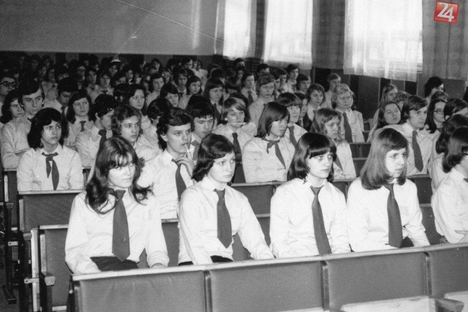 FOTKY, ktoré si nenechajte ujsť: Archívne snímky zo známej michalovskej školy