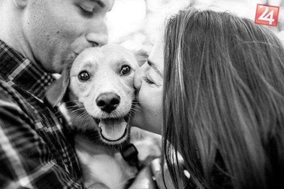 Valentín so psíkom
