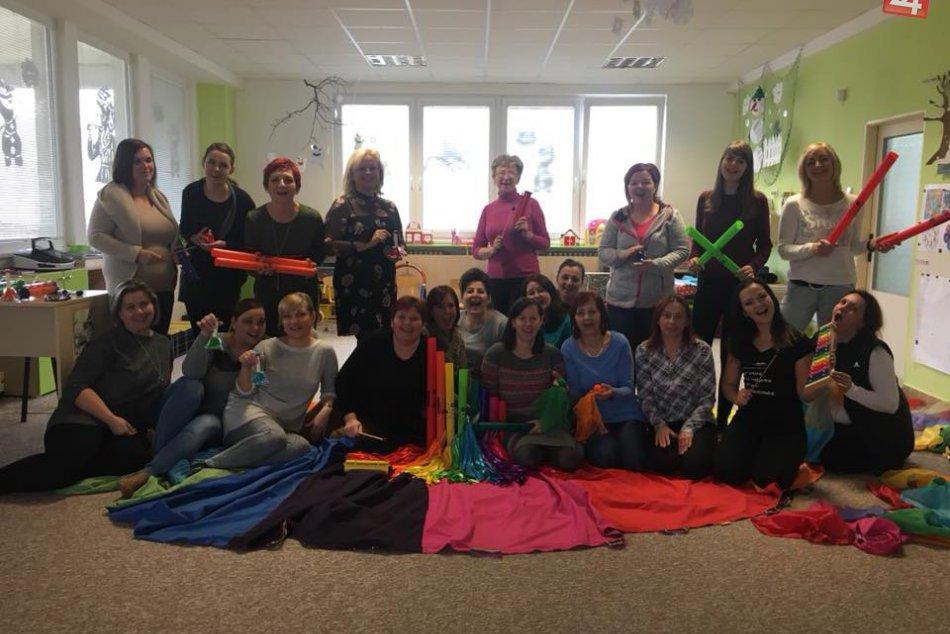 V Šali sa konal workshop: Jeho účastníčkami boli učiteľky, FOTO