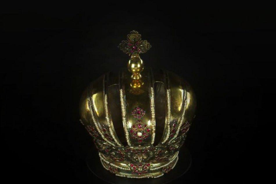 OBRAZOM: Zamerané na detail. Trnavská koruna z roku 1687.