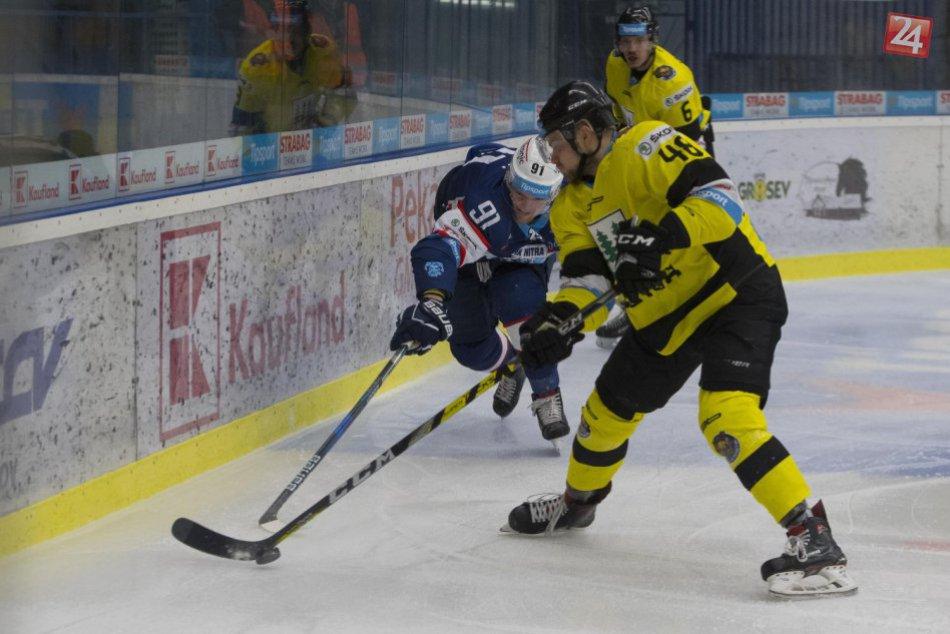 Nitra na detvianskom ľade vyhrávala o dva góly, domáci otočili