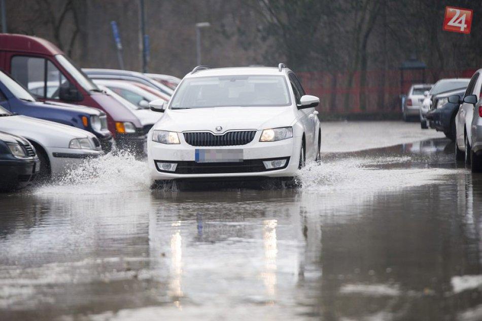 Havária vodovodu v Petržalke, Bradáčova ulica