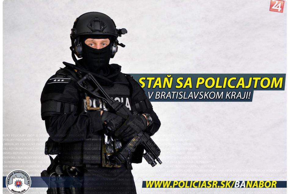 Polícia SR, nábor