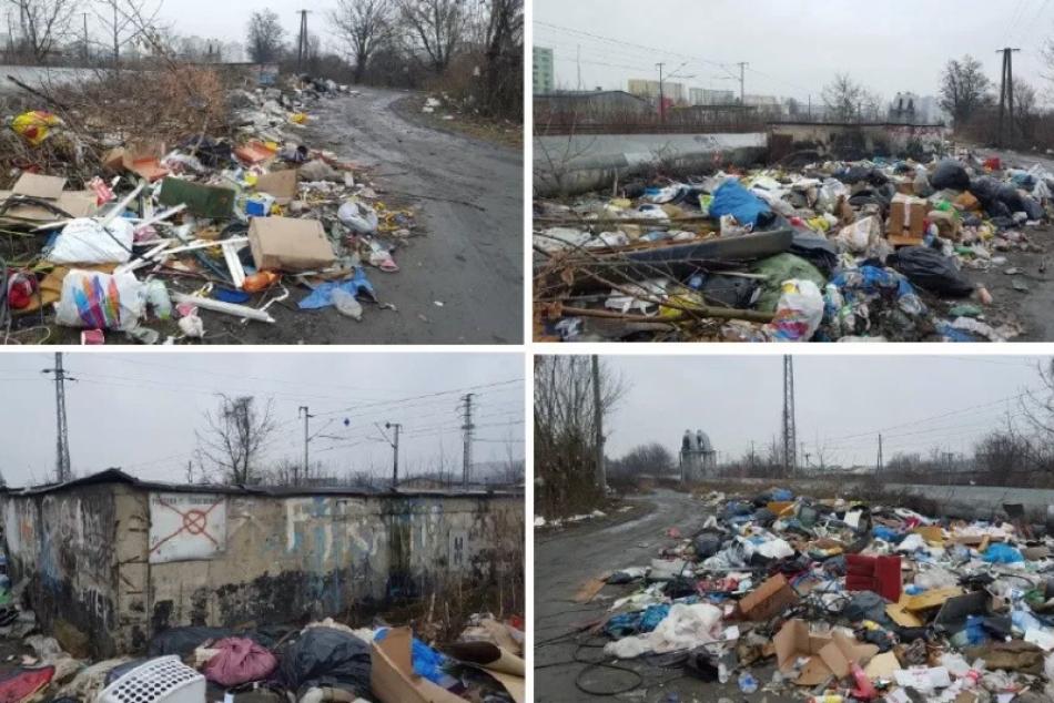 V známej košickej lokalite vyčistili skládku odpadu: ZÁBERY priamo z miesta