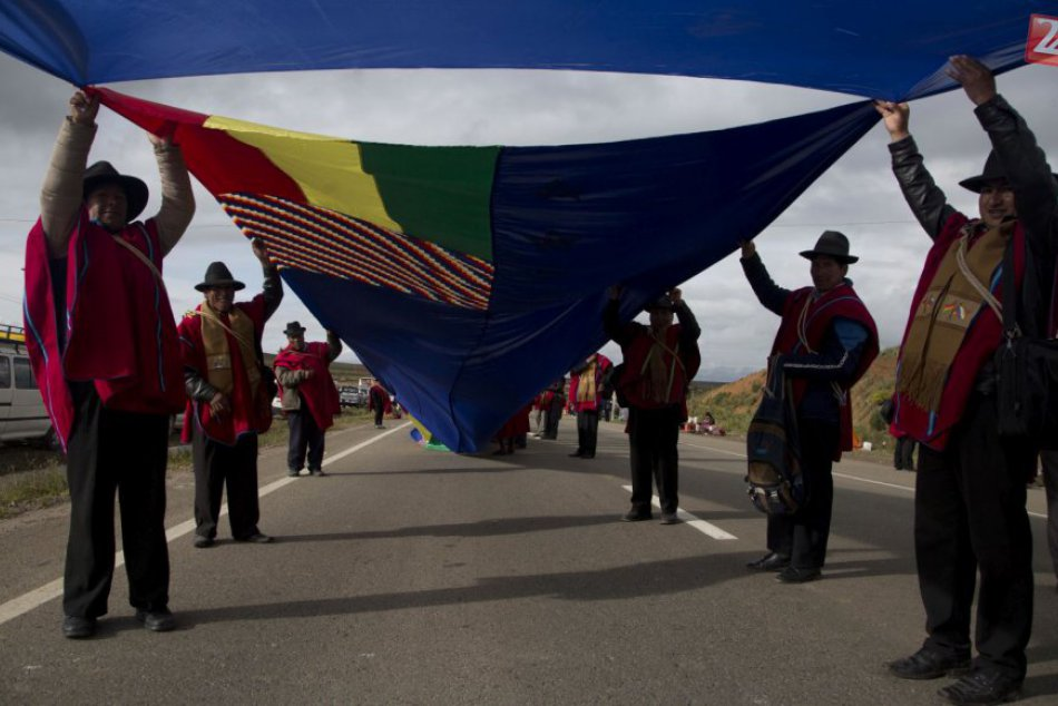 KURIOZITA DŇA: Vlajka Bolívie dlhá takmer 200 kilometrov