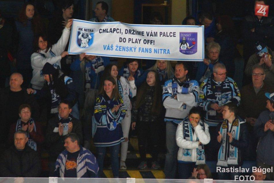 HK Nitra - HC Nové Zámky 8:1 v prvom štvrťfinále play off