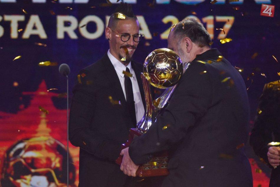 V OBRAZOCH: Dvojnásobný triumf futbalistu Mareka Hamšíka
