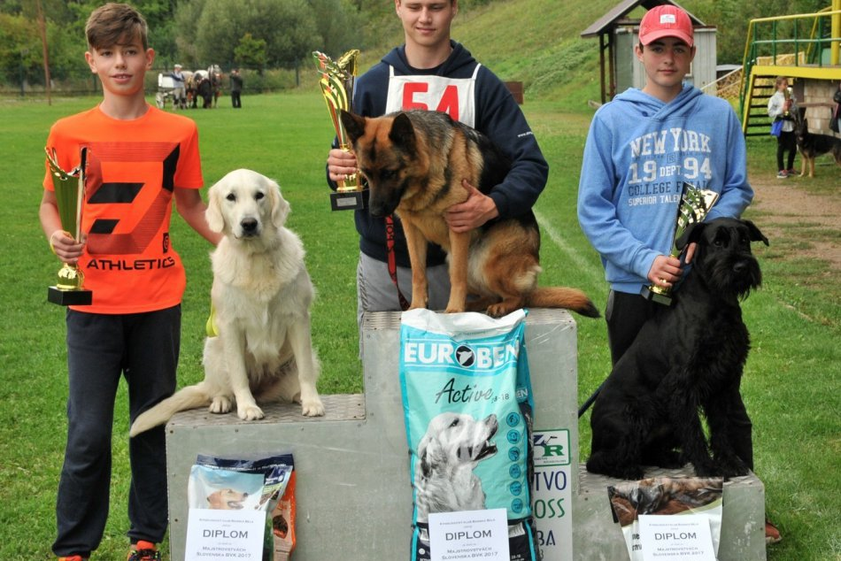 V OBRAZOCH: Dominik so psíkom Gracie žnú úspechy na súťažiach