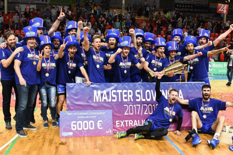 Volejbalový majster je známy: Nitra si z Prievidze priniesla striebro, FOTO