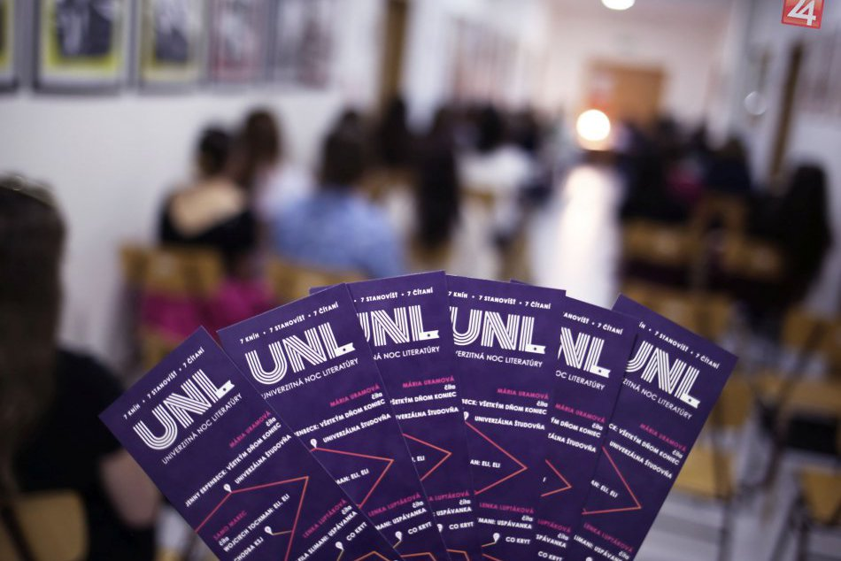 V OBRAZOCH: Univerzitná noc literatúry 2018