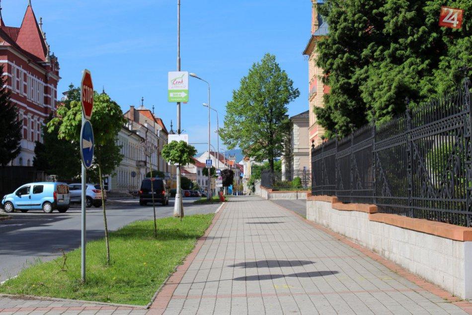 V OBRAZOCH: Skuteckého ulica v Banskej Bystrici