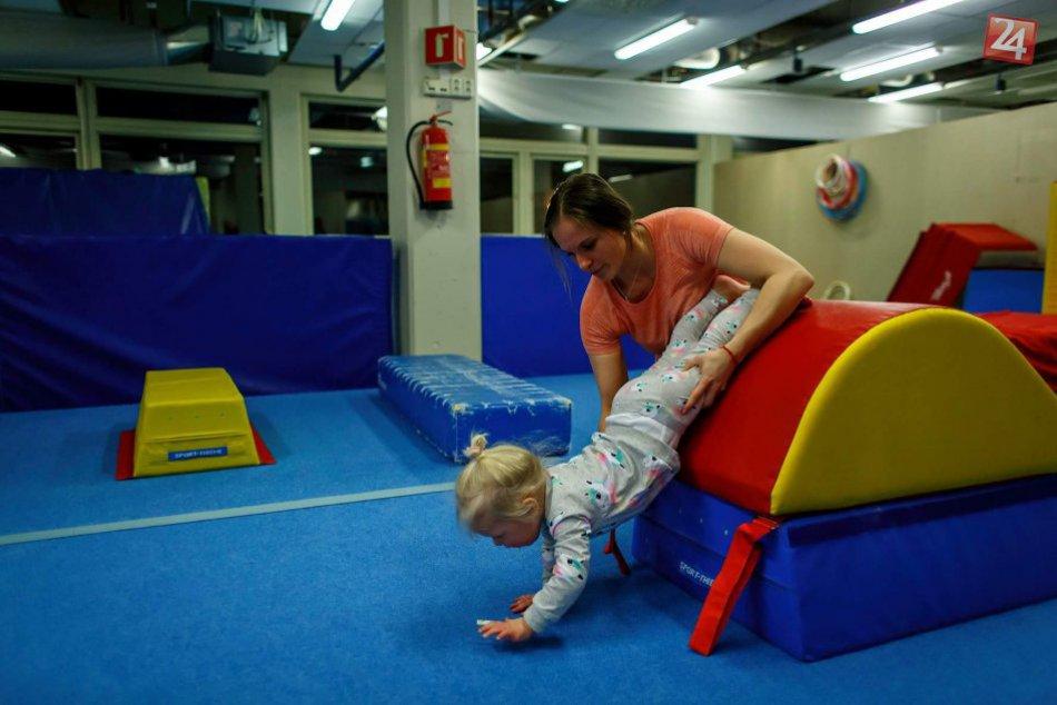 V OBRAZOCH: Mária Homolová učí gymnastiku v ďalekom Nórsku