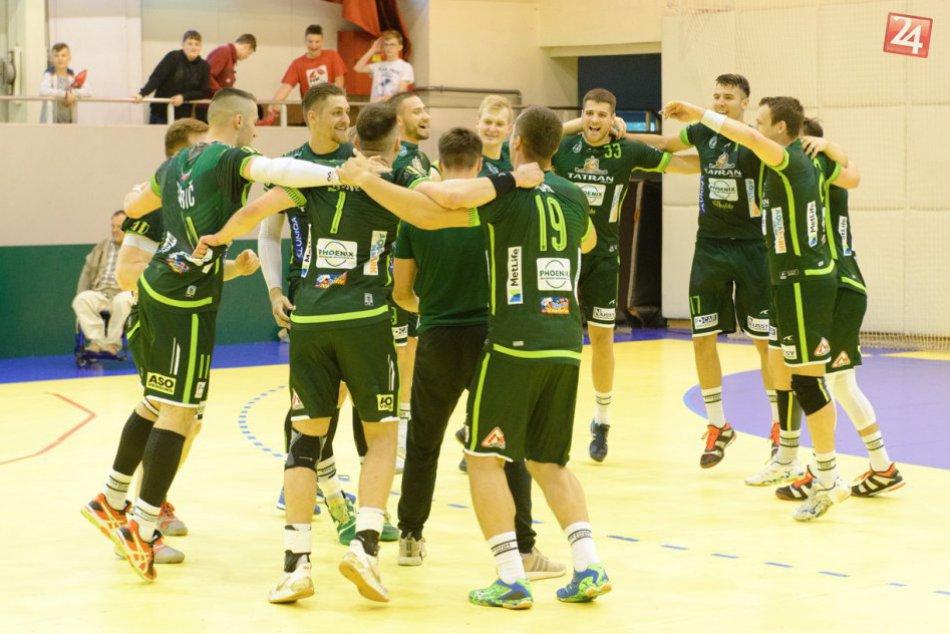 Obhájili ďalší titul: Hádzanári Prešova sú kráľmi v extralige 14-krát