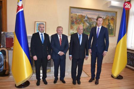 Predseda PSK rokoval na Ukrajine  Snahou je zlepšenie dopravnej  infraštruktúry cae9c00ba51