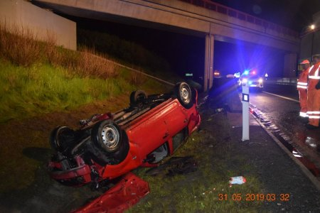 ec4e6f66c Tragická dopravná nehoda na diaľnici v Poprade: O život prišiel spolujazdec  (†27)