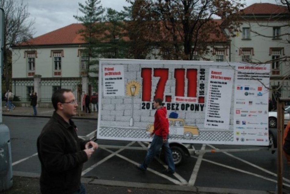 17. november Praha 2009