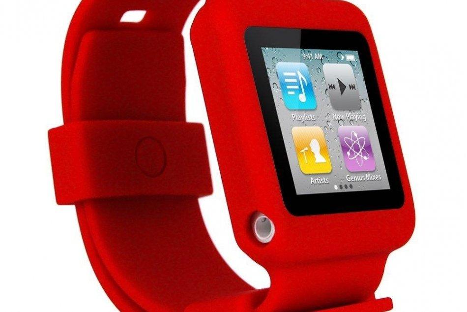iPod NANO ako hodinky