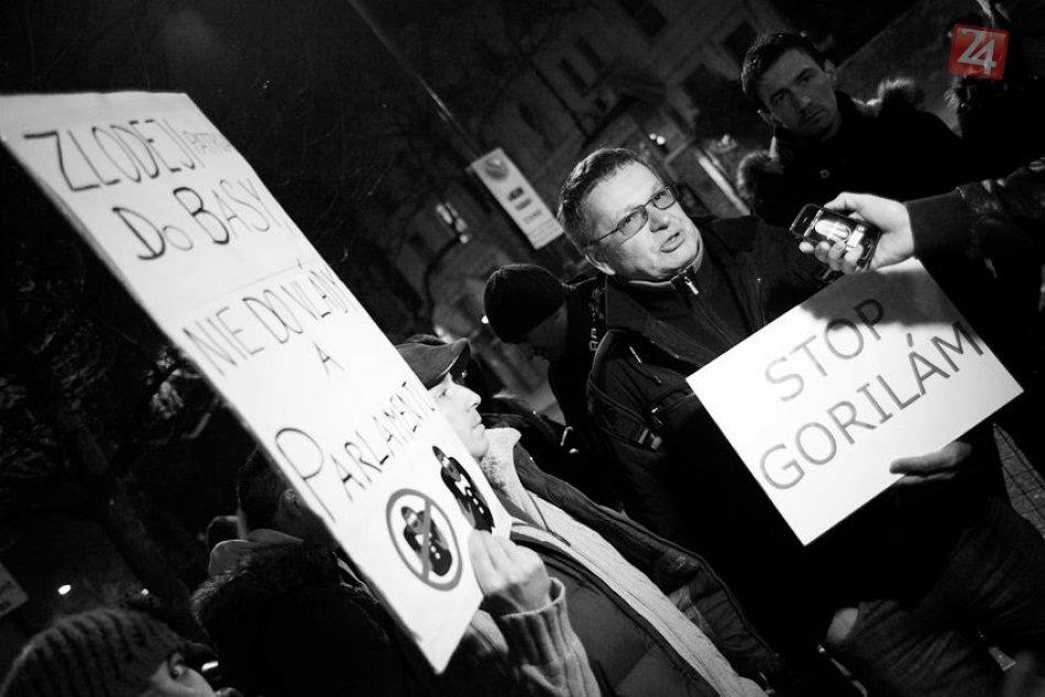 Protest_gorila_Londyn
