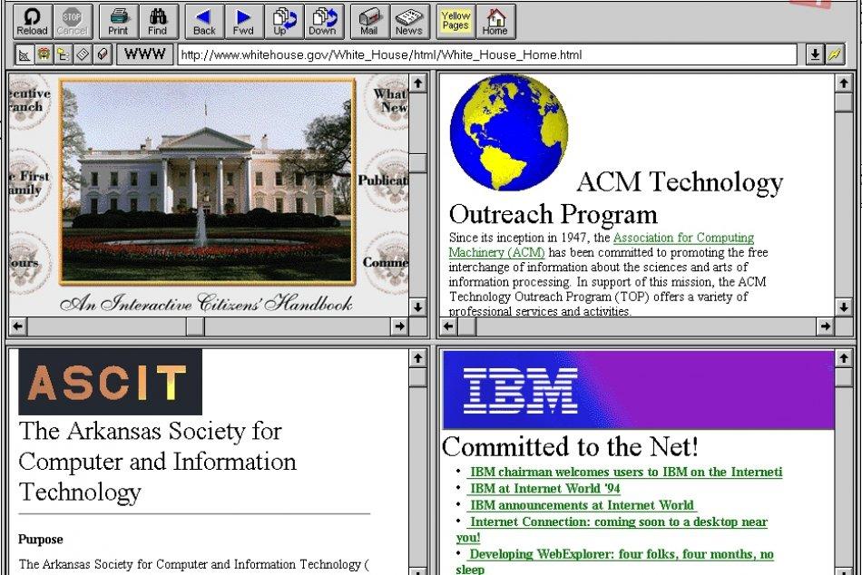 Internet oslavuje 20 rokov