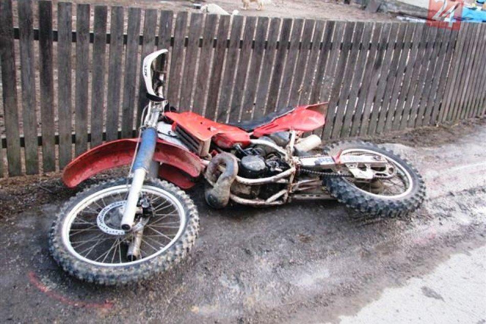 motorka nehoda