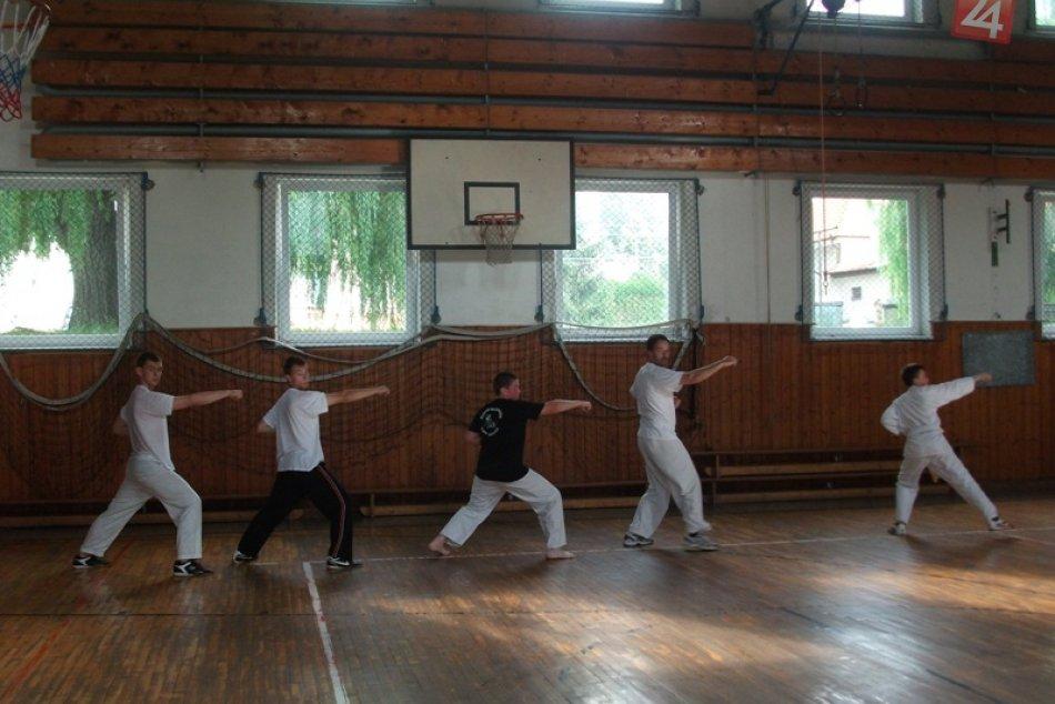 karate paskovanie