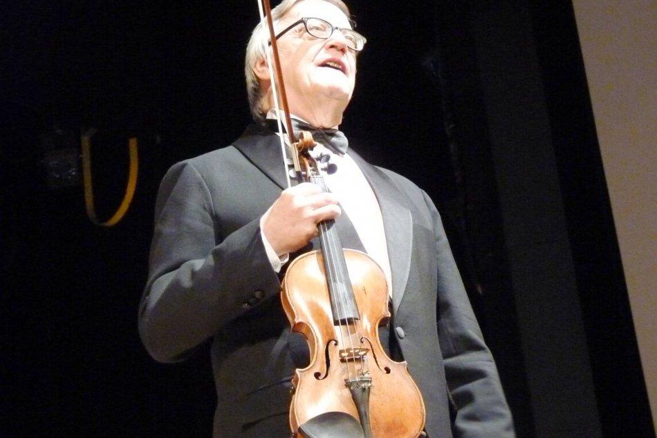 Majster huslí Peter Michalica odohral nádherný koncert