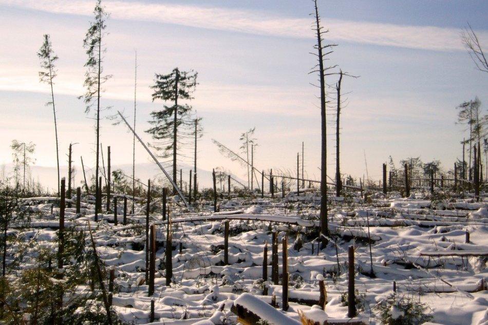 Ponad Vysoké Tatry sa prehnala v roku 2004 víchrica