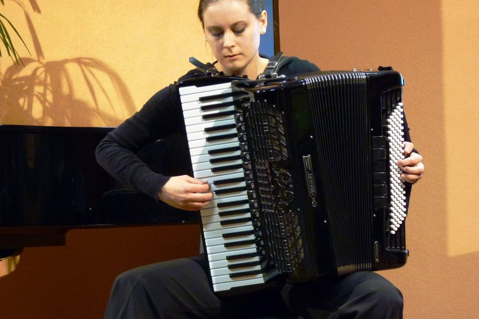 Z večerných koncertov Medzinárodnej akordeónovej súťaže