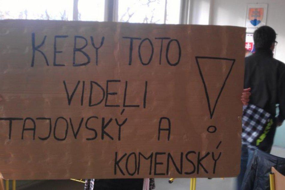 Študenti GJGT sa mobilizujú: Výzývajú aj ostatné školy - študentský štrajk je za