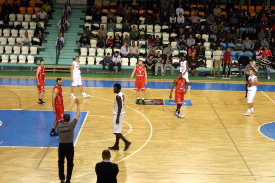 Bystričania pod košmi proti Nitre: Pekný basketbal, na konci smútok :(