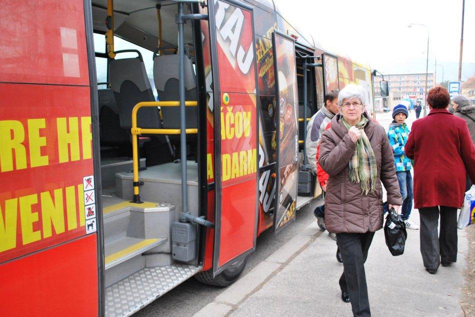 Autobusy MHD v Nitre