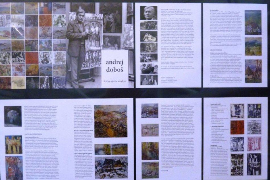 Tatranská galéria v Poprade otvorila výstavu diel maliara Andreja Doboša