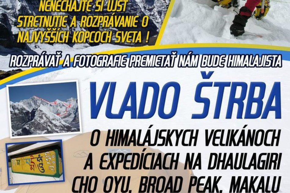 Pozvánka na besedu s Vladom Štrbom