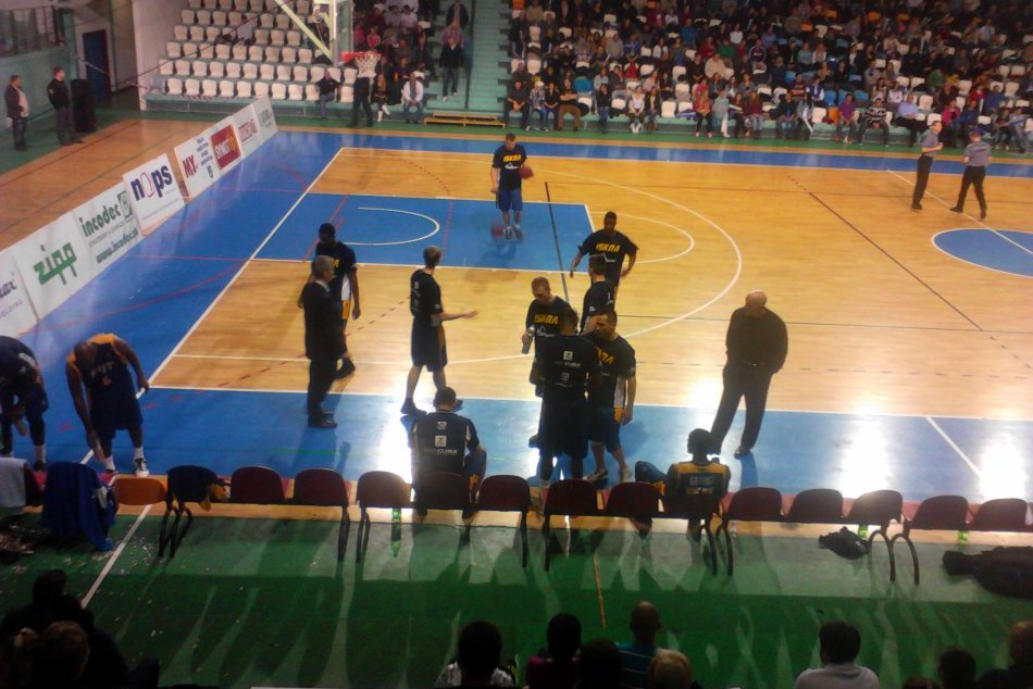 Basketbal - BK NItra - Iskra Svit