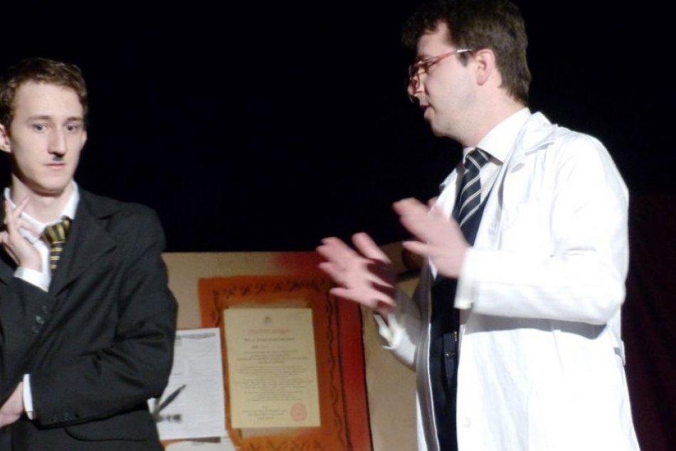 Pacient doktora Freuda - predstavenie Art Academy Poprad